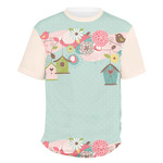 Easter Birdhouses Men's Crew T-Shirt (Personalized)