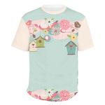 Easter Birdhouses Men's Crew T-Shirt (Personalized)
