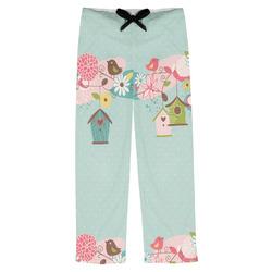 Easter Birdhouses Mens Pajama Pants (Personalized)