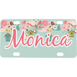 Easter Birdhouses Mini / Bicycle License Plate (Personalized)