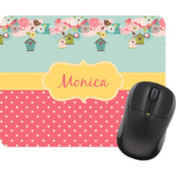 Easter Birdhouses Mouse Pad (Personalized)