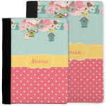 Easter Birdhouses Notebook Padfolio w/ Name or Text