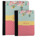 Easter Birdhouses Padfolio Clipboard (Personalized)