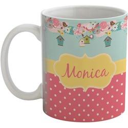 Easter Birdhouses Coffee Mug (Personalized)