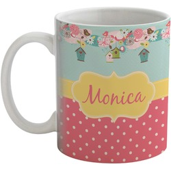 Easter Birdhouses Coffee Mug (Personalized)