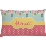Easter Birdhouses Pillow Case (Personalized)