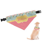 Easter Birdhouses Dog Bandana (Personalized)