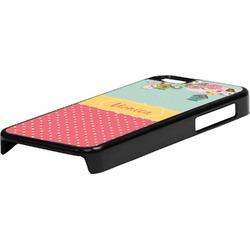 Easter Birdhouses Plastic iPhone 5C Phone Case (Personalized)