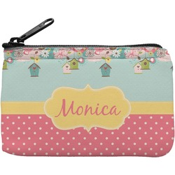 Easter Birdhouses Rectangular Coin Purse (Personalized)