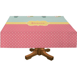 Easter Birdhouses Tablecloth (Personalized)