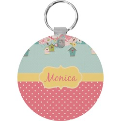 Easter Birdhouses Keychains - FRP (Personalized)