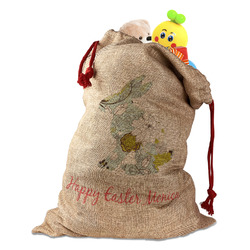 Easter Birdhouses Santa Sack (Personalized)