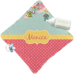 Easter Birdhouses Security Blanket (Personalized)