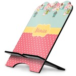 Easter Birdhouses Stylized Tablet Stand (Personalized)