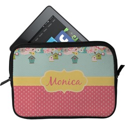 Easter Birdhouses Tablet Case / Sleeve (Personalized)