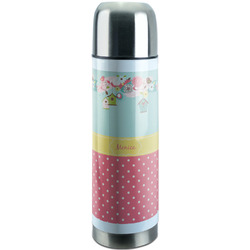 Easter Birdhouses Stainless Steel Thermos (Personalized)