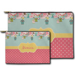 Easter Birdhouses Zipper Pouch (Personalized)