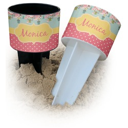Easter Birdhouses Beach Spiker Drink Holder (Personalized)