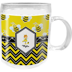 Buzzing Bee Acrylic Kids Mug (Personalized)