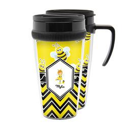 Buzzing Bee Acrylic Travel Mugs (Personalized)
