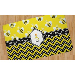 Buzzing Bee Area Rug (Personalized)