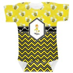 Buzzing Bee Baby Bodysuit (Personalized)