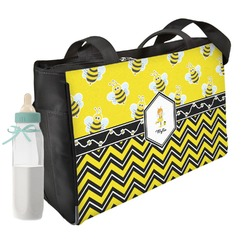 Buzzing Bee Diaper Bag (Personalized)