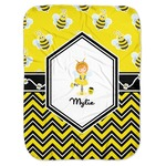 Buzzing Bee Baby Swaddling Blanket (Personalized)