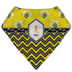 Buzzing Bee Bandana Bib (Personalized)