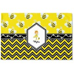 Buzzing Bee Woven Mat (Personalized)