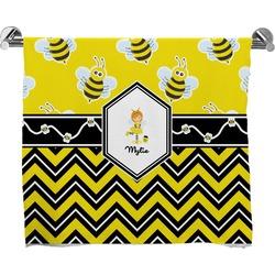 Buzzing Bee Bath Towel (Personalized)