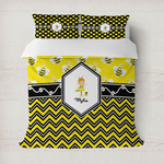 Buzzing Bee Duvet Cover (Personalized)