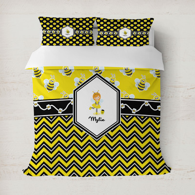 Buzzing Bee Duvet Covers (Personalized)