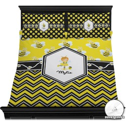 Buzzing Bee Duvet Cover Set (Personalized)