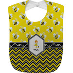 Buzzing Bee Baby Bib (Personalized)