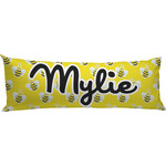 Buzzing Bee Body Pillow Case (Personalized)