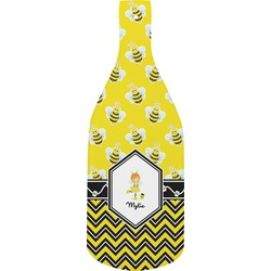 Buzzing Bee Bottle Shaped Cutting Board (Personalized)