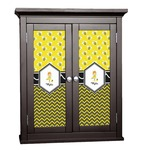 Buzzing Bee Cabinet Decal - Custom Size (Personalized)