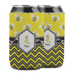 Buzzing Bee Can Cooler (12 oz) w/ Name or Text