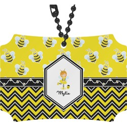 Buzzing Bee Rear View Mirror Ornament (Personalized)