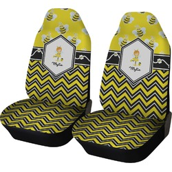 Buzzing Bee Car Seat Covers (Set of Two) (Personalized)