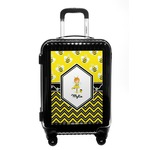 Buzzing Bee Carry On Hard Shell Suitcase (Personalized)