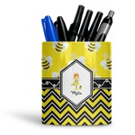Buzzing Bee Ceramic Pen Holder