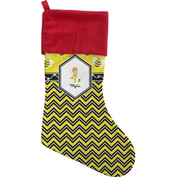 Buzzing Bee Christmas Stocking (Personalized)