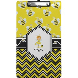 Buzzing Bee Clipboard (Legal Size) (Personalized)