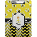 Buzzing Bee Clipboard (Personalized)