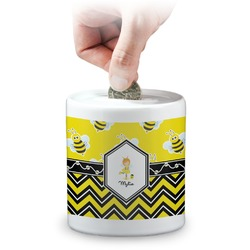 Buzzing Bee Coin Bank (Personalized)