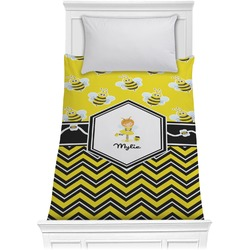 Buzzing Bee Comforter - Twin (Personalized)