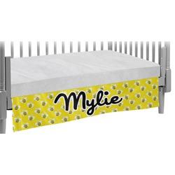 Buzzing Bee Crib Skirt (Personalized)