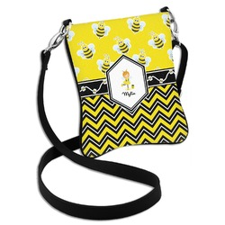 Buzzing Bee Cross Body Bag - 2 Sizes (Personalized)